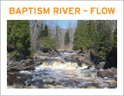 Baptism River Flow