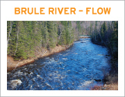 Brule River Flow